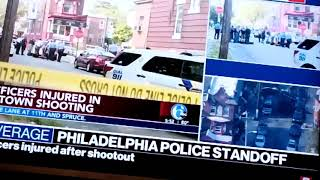 6 Police Officers Shot In Philadelphia. America #Shooting Madness
