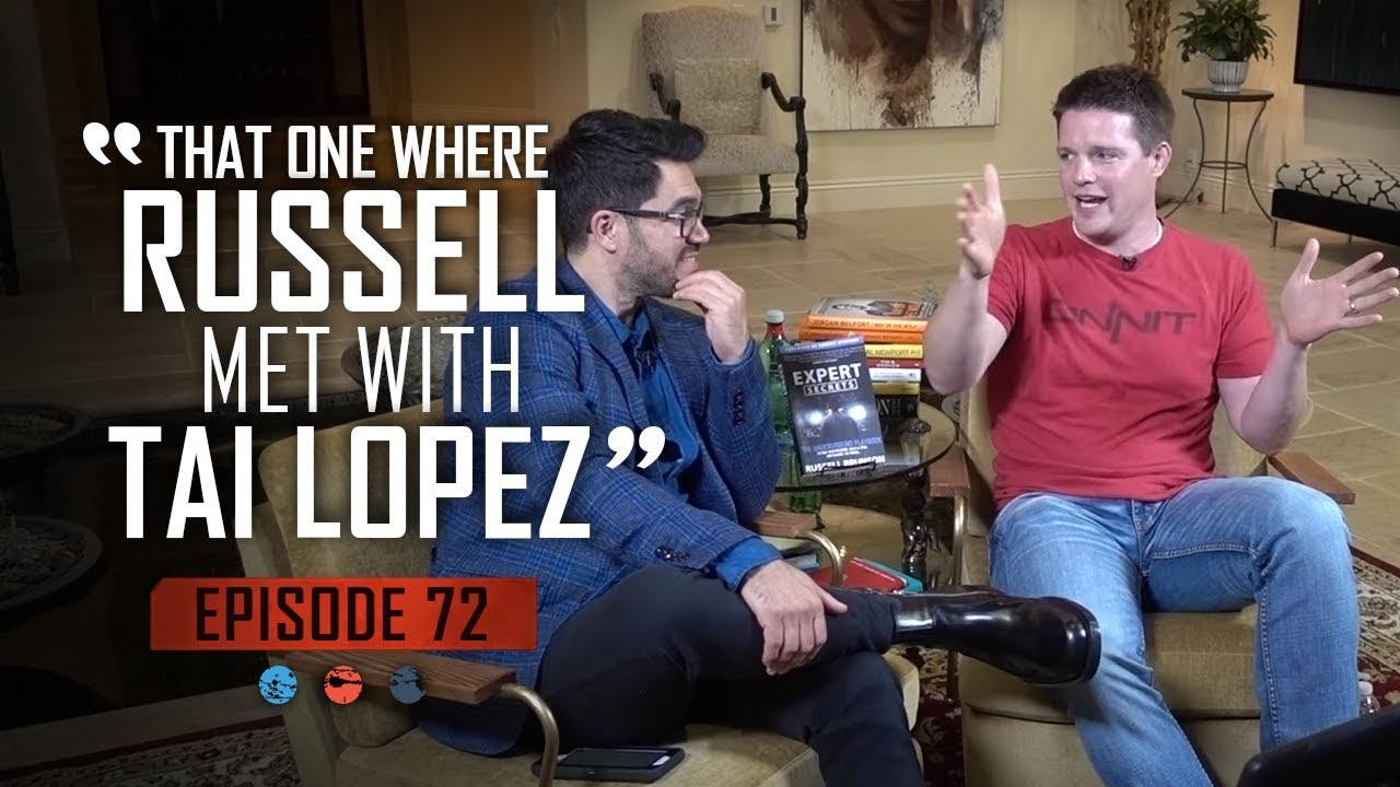 That One Where Russell Met With Tai Lopez ... Funnel Hacker TV Episode 72