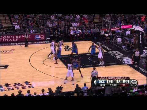 Spurs Have Grand Diaw's Plan: Dominate The Thunder in Game 5