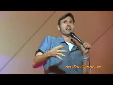 Comedian Sean Kent Reflects on AESA Prep Academy