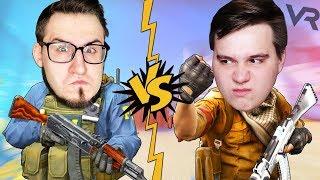 VR   COFFI VS ALEX FOX! Битва 1 на 1 в CS:GO ВР