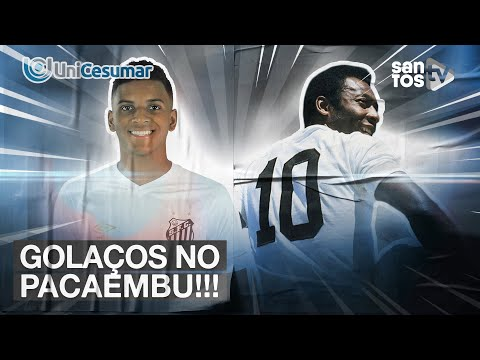 QUAL O GOL MAIS BONITO DO SANTOS NO PACAEMBU? TOP UNICESUMAR 07