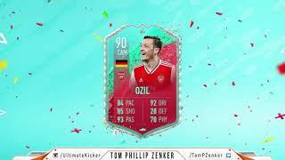 FIFA 20 SBC FUT Birthday Mesut Özil CHEAPEST SOLUTION 222000  FUT 20 SQUAD BUILDING CHALLENGE