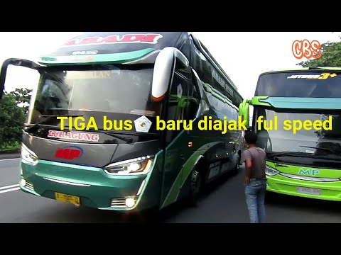 Konvoi cepat tiga bus MP Jb3+ Alfarruq Limoes Cirebon-Balaraja part2