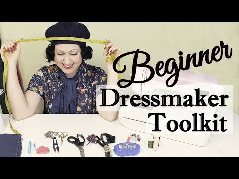SEWING BEGINNER STARTER TOOLKIT - The Essential Sewing Tools You Need To Get Started Sewing