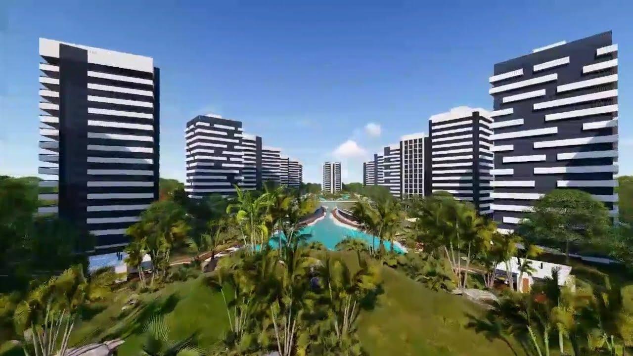 Asi será la Pirmera Fase de la Ciudad Nueva Santa Cruz - Bolivia Construcción - YouTube
