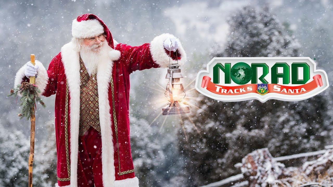 NORAD Tracks Santa 2017 - YouTube