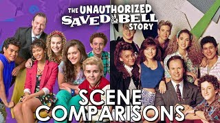 The Unauthorized Saved by the Bell Story (2014) and Saved by the Bell (1989) - scene comparisons