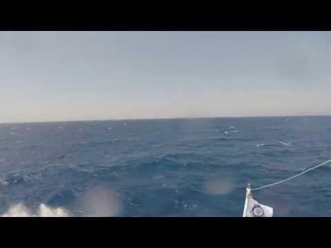 Bodrum Feribot - Datça to Bodrum - 2 Hour Boat Trip Slow TV