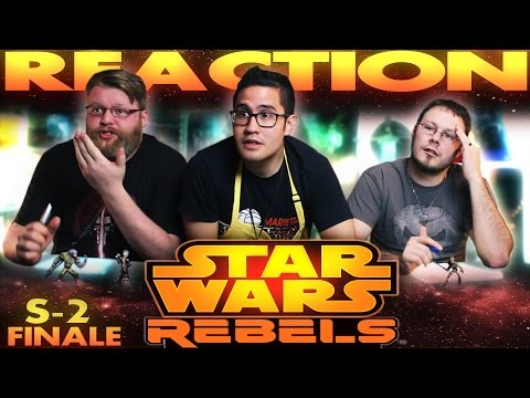 "Star Wars Rebels Season 2 Finale REACTION ""Twilight of the Apprentice"""