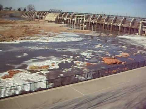 Lake overholser dam in oklahoma city youtube sciox Image collections