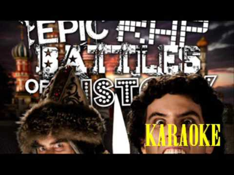 [KARAOKE ♫] Alexander the Great vs Ivan the Terrible. Epic Rap Battles of History [INSTRUMENTAL]