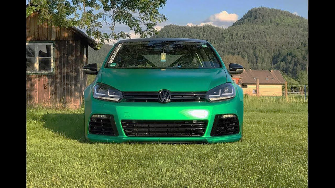 bull x ego x vw golf 6 gti tuning green rain projekt. Black Bedroom Furniture Sets. Home Design Ideas