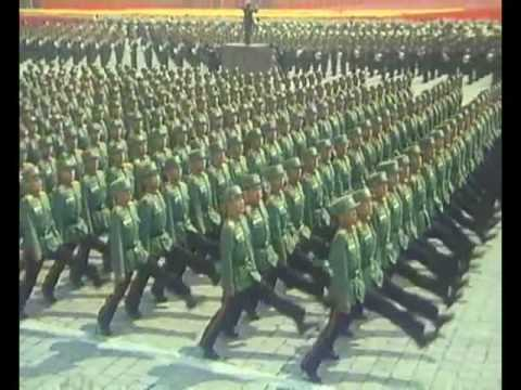 North Korean People's Army Funky Get Down Juche Party
