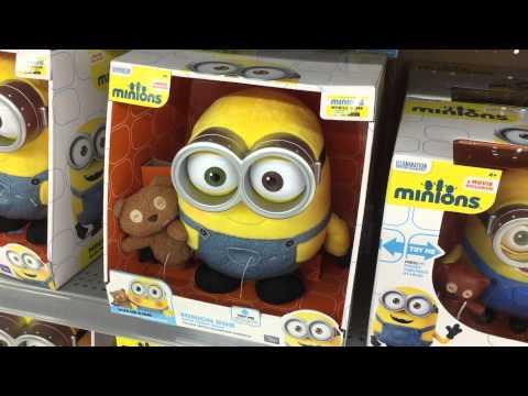Minions at Walmart! - YouTube