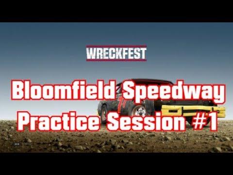 Wreckfest Bloomfield Speedway Practice Session #1