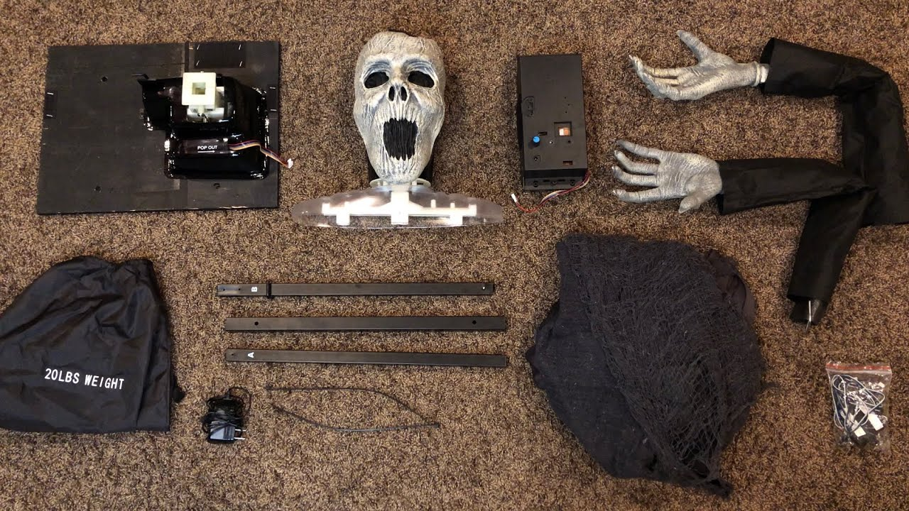 Instructional setup of The Hauntress (guided installation tutorial)