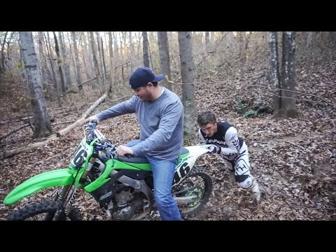 First Time On A Dirt Bike