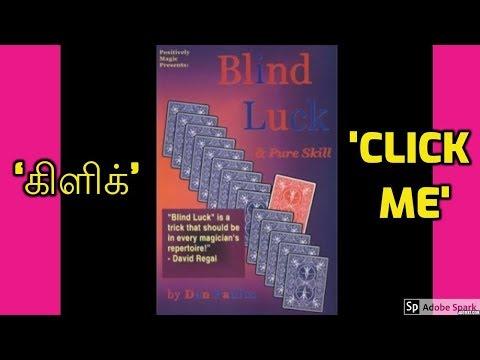 MAGIC TRICKS VIDEOS IN TAMIL #470 I BLIND LUCK & PURE SKILL by DAN PAULUS @Magic Vijay