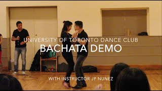 [UTDC] Bachata Demo w/ JP Nunez and Christina
