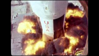 Saturn V Launch - LUT Engineering Camera Footage 06
