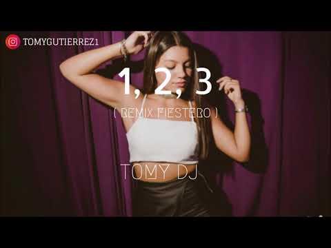 TOMY DJ ✘ 1, 2, 3 [ Sofia Reyes ✘ Jason Derulo ✘ De La Ghetto ] [ REMIX FIESTERO ]
