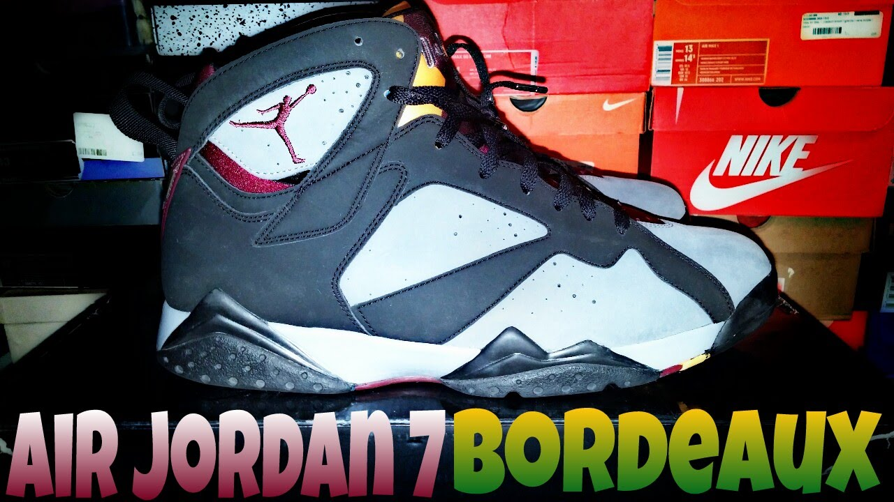 2a74dc88a0bbcd Jordan 7 Bordeaux review
