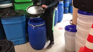 Обзор бочка 127 литров пластиковая