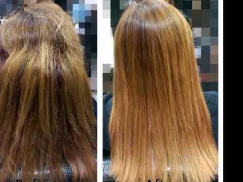 漂過的頭髮可以燙直嗎?超越離子燙-Part 2-漂後髮直髮調整 - YouTube