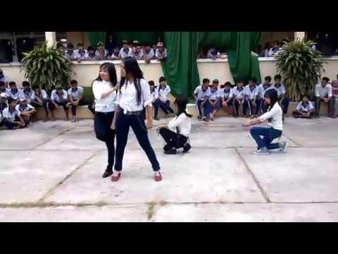 Nhảy hiện đại THPT Thuận Hòa - Hội trại 26/03/2014