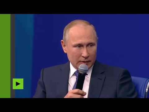 Vladimir Poutine ironise sur les sanctions américaines : «Les chiens aboient la caravane passe»