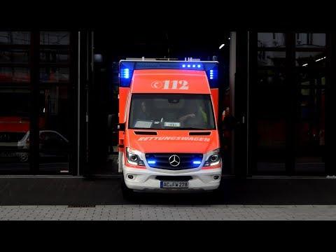 [21 minuten Aachener Blaulicht!] Zusammenschnitt Einsatzfahrten Feuerwehr Aachen!
