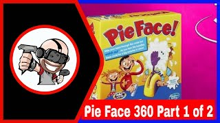 Pie Face Challenge in 360 Video! Part 1 (VR Edition) Virtual Reality