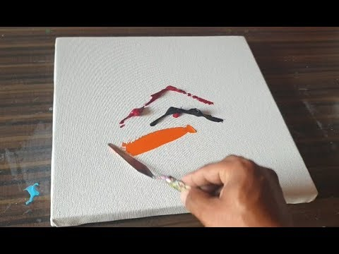 Amazing Abstract Painting / Smooth & Satisfying / Demonstration / Project 365 days / day #0329