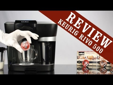 Keurig Rivo Review Cappuccino Latte Brewing System R500 Youtube