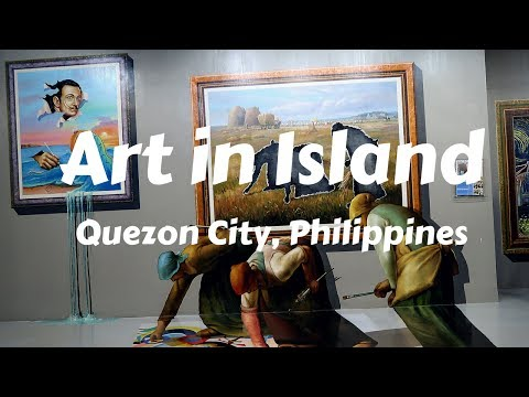My visit to the Art In Island 3D painting Museum - Manila, P