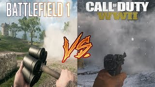Call Of Duty WW2 vs. Battlefield 1 - Attention To Detail