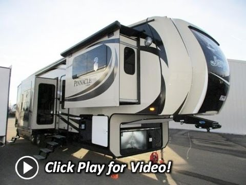 2016 jayco pinnacle 38flsa front living - 2016 luxury front living room 5th wheel ...