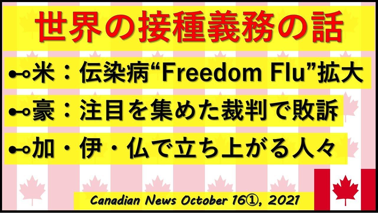 """世界で戦う人々 急拡大する""""Freedom Flu"""""""