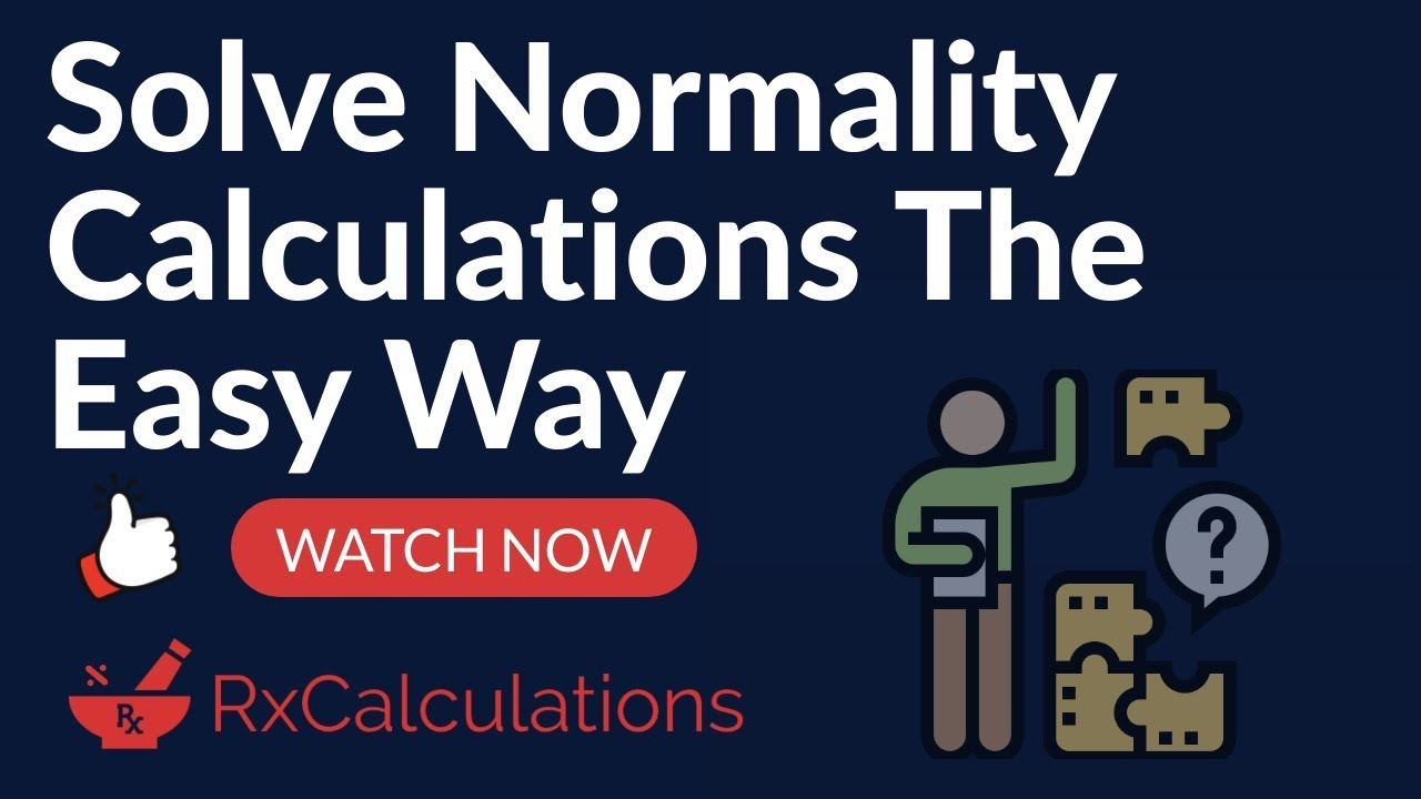 Normality Calculations Solved the Smart and Easy Way