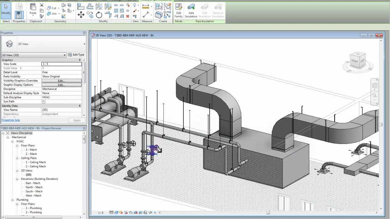 Revit MEP 2012 API - TSI software presentation FAB-MEP AUS - Design BIM  Through To Manufacturing BIM - YouTube | Hvac Drawing Program |  | YouTube