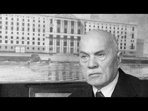 Алексей Викторович Щусев, 1873 - 1949, выдающийся архитектор современности, фильм памяти человека
