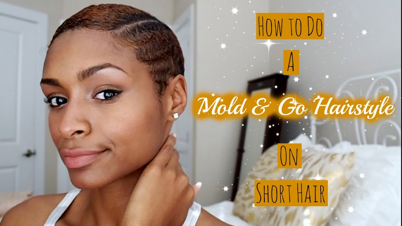 How to do a Mold and Go Hairstyle on Short Hair