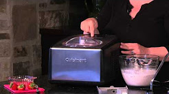 Cuisinart Ice Cream And Gelato Maker (ICE-100) Demo Video