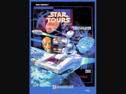 Star Tours - The Droid Rooms