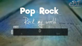Pop/Rock Backing Track in D Major | 120 bpm