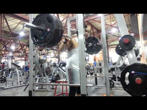 First time squat 405 lbs