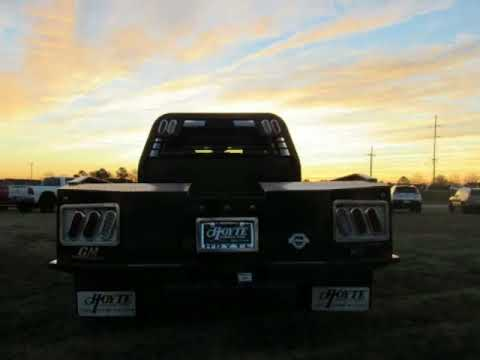Hoyte Dodge Durant Ok >> 2017 Dodge RAM 4500 4X4 Commercial Flatbed Tradesman White For Sale Near Norman OK - YouTube