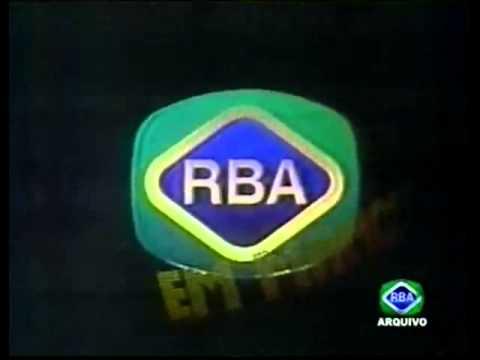 Abertura Antiga RBA EM MANCHETE de 1990
