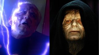 Was Palpatine's Face Deformed or Revealed in Mace Duel?